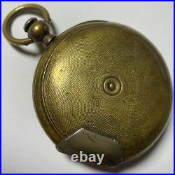 1800s Imperial Duplex Swiss Made Chinese Market Antique Pocket Watch