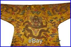 A Imperial Qing Dynasty Dragon Robe Or Longpao