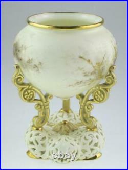 Antique 19th Century Royal Worcester Porcelain Vase