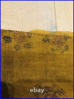 Antique Chinese 17C Late Ming/Early Qing Imperial Yunjin brocade dragon panel