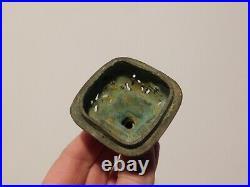 Antique Chinese Copper Bronze Censer Qianlong Imperial Yuzhi Mark Qing