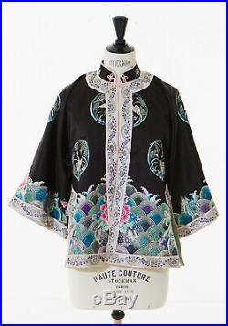 Antique Chinese Robe Court Dress Imperial Embroidered Silk Qing Dynas Embroider