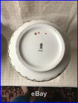 Antique Royal Crown Derby Porcelain Chinese Double Gourd Vase