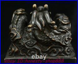 China Bronze Fengshui Palace Dynasty Dragon Dynasty Imperial Seal Stamp Signet