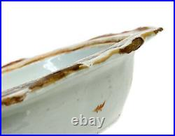 Chinese Export Porcelain Covered Serving Bowl, Imperial Double Eagle, c1800