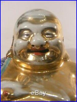 Chinese Laughing Buddha Porcelain Zhu Ma0 Ji Zhu Maosheng Imperial Famille
