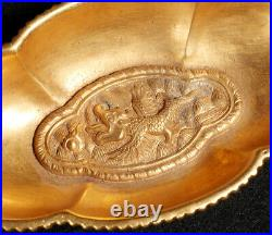 Chinese Qing Dynasty Antique Royal Gilded Wares