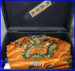 Embroidery ancient China emperors formal dress imperial robe dragon robe