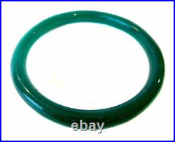 IMPERIAL Green ANTIQUE PEKING Glass BRACELET