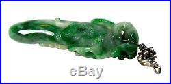IMPERIAL Green JADEITE Pendant Pepper Shape