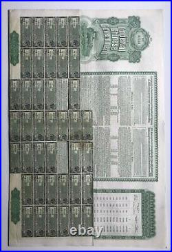 Imperial Chinese Government Hukuang Railways Sinking Gold Loan 1911 Chinese bond
