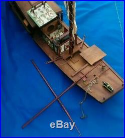 Large Chinese Imperial River Junk Model