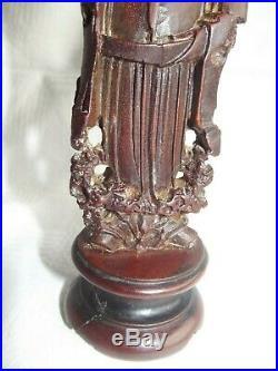 Ming Dynasy Imperial Figure Carving Coelodonta Antiquitatis/libation cup