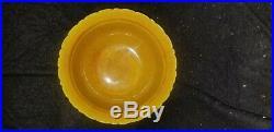 Porcelain Imperial Yellow Dragon & Phoenix Chinese Apocryphal Hongzhi Bowl