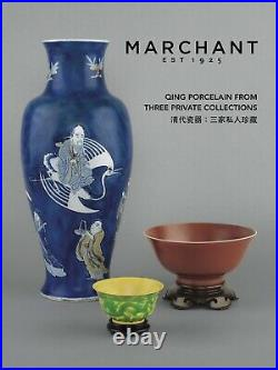 Qing Chinese Porcelain Imperial Kangxi 3 Private Collections Catalogue Book New