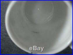 Rare Antique Imperial Russian Porcelain Cup and Saucer GULIN Factory MARKED
