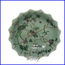 Rare Unique Chinese Xianfeng Imperial Porcelain Bowl Dates 1851 Qing Dynasty