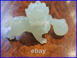 Very Fine Antique Jade Figure Foo Dog imperial