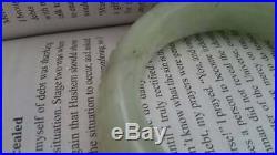 Vintage Royal Jade Jadeite Bangle Bracelet 70s