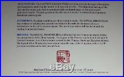 Zhou Dynasty403-221BC Royal Phoenix BI DISC Pendant Chinese Jade Talisman Amulet